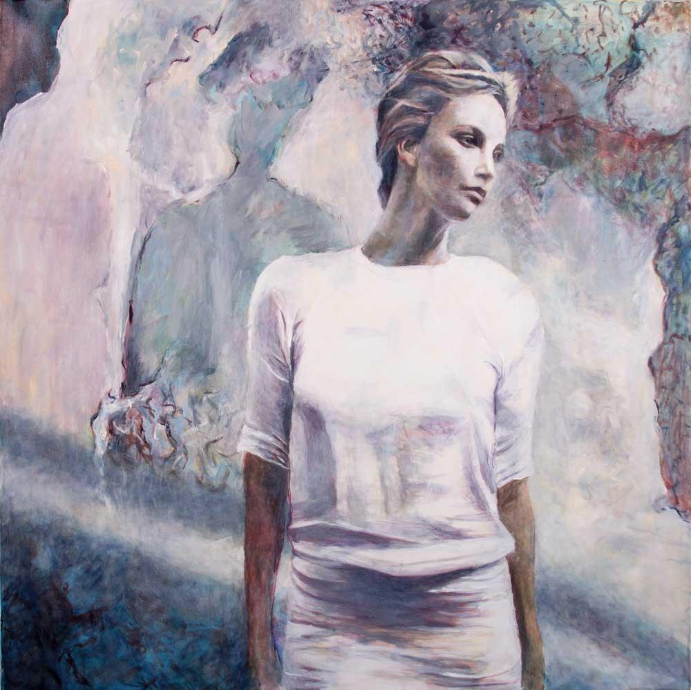 Mo Kilders - Frau in weiß