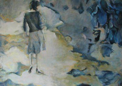 Mo Kilders - Mädchen in Landschaft