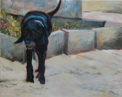 Mo Kilders - Schwarzer Hund