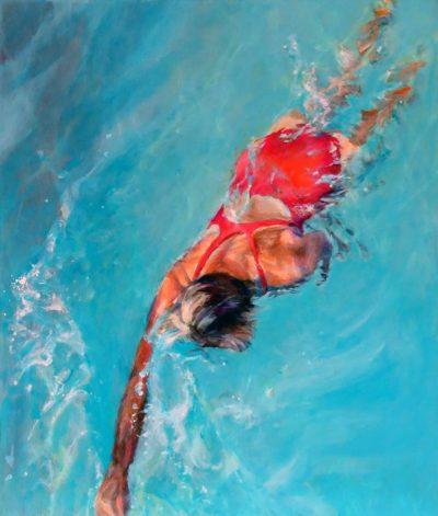 Mo Kilders - Schwimmerin II