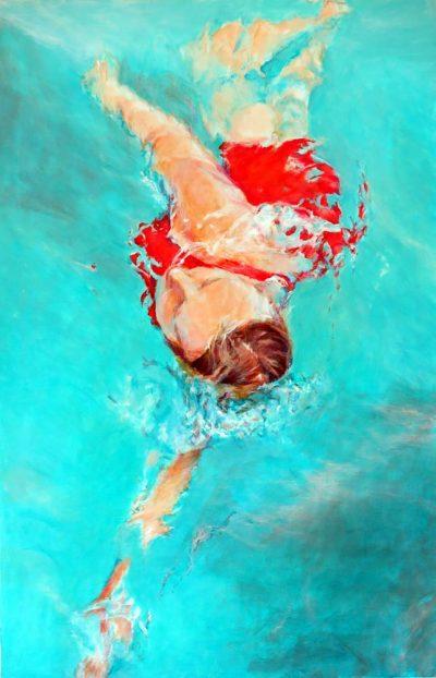 Mo Kilders - Schwimmerin III