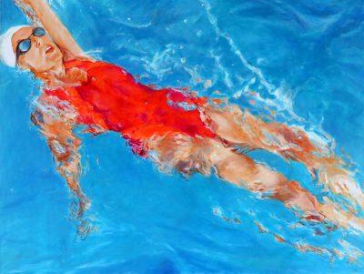 Mo Kilders - Schwimmerin IV