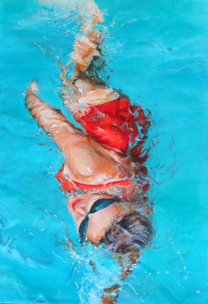 Mo Kilders - Schwimmerin IX