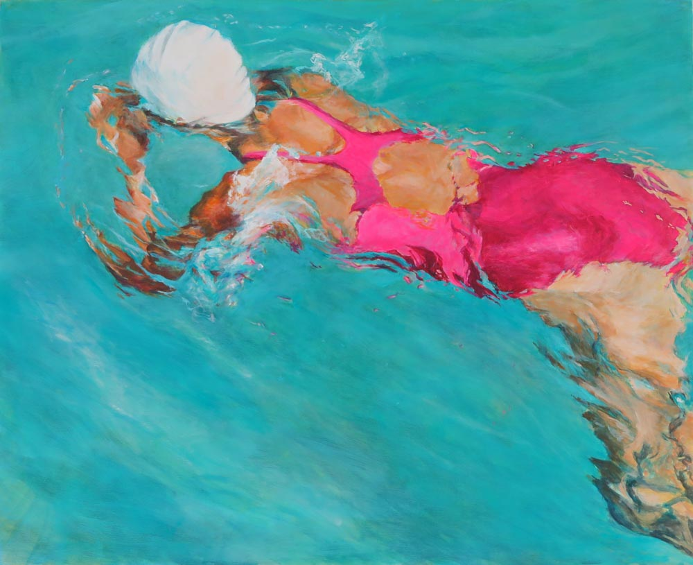 Mo Kilders - Schwimmerin V
