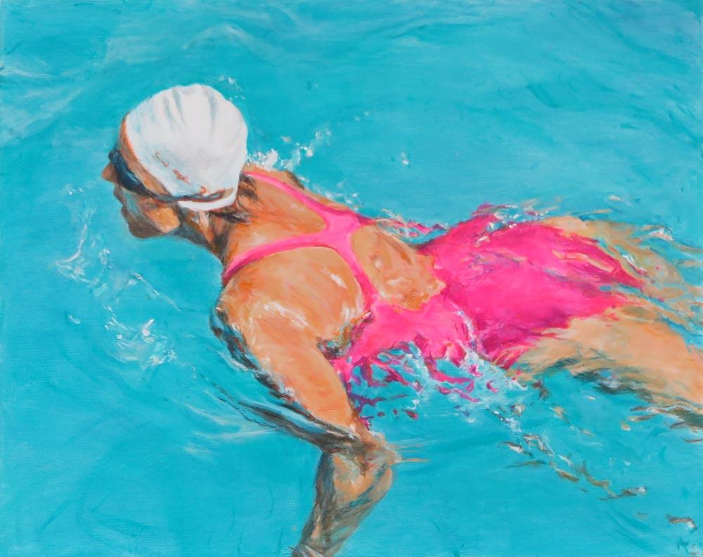 Mo Kilders - Schwimmerin VI