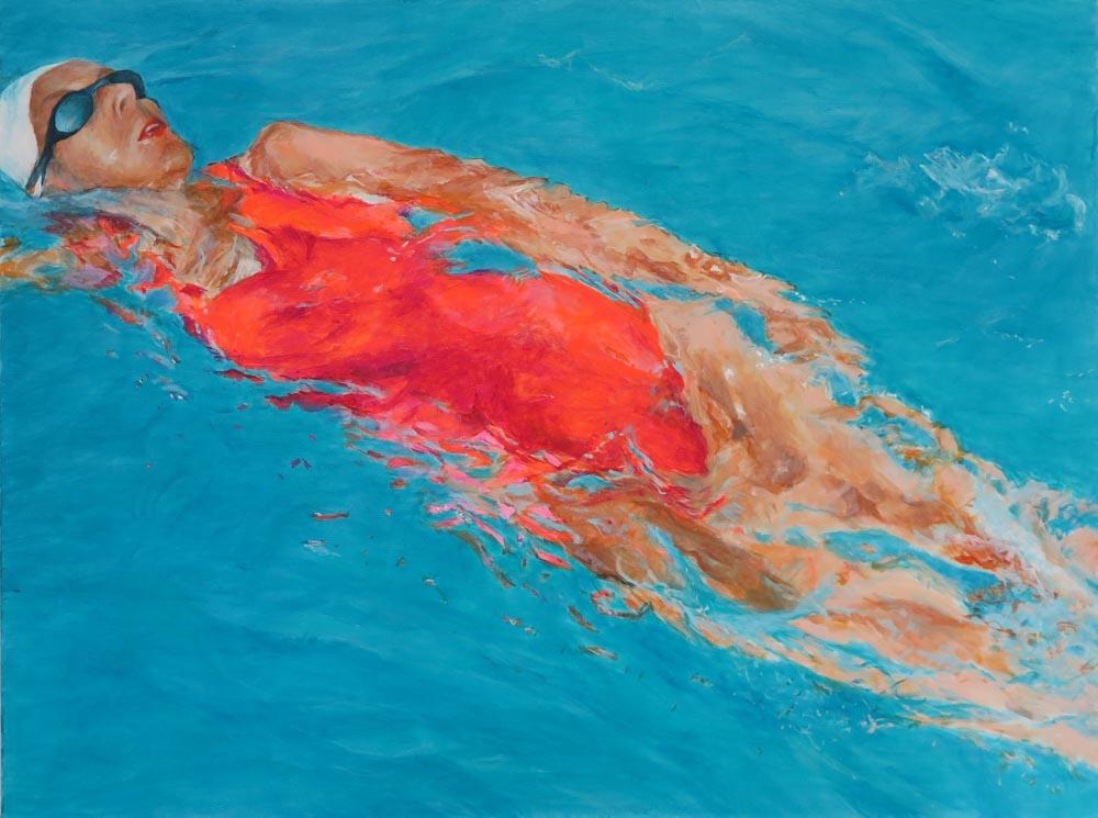 Mo Kilders - Schwimmerin VIII
