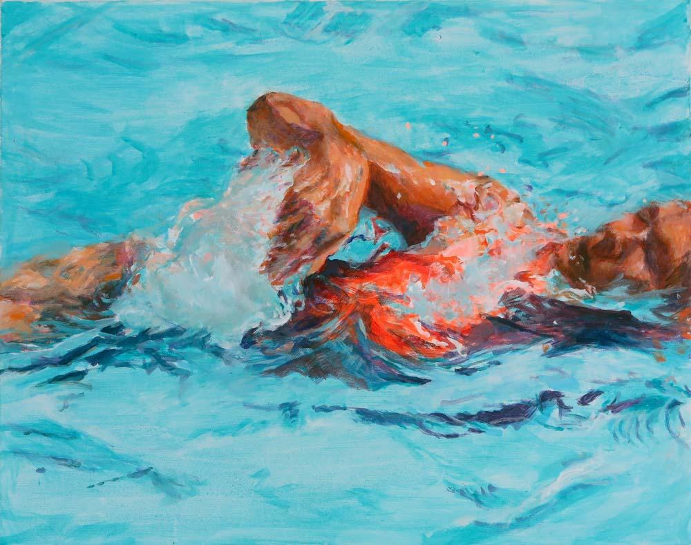 Mo Kilders - Schwimmerin X