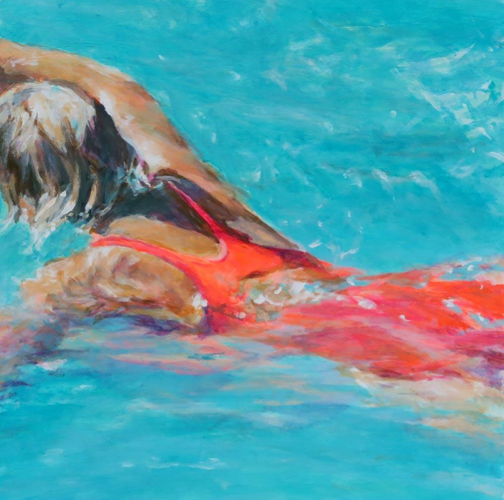 Mo Kilders - Schwimmerin XI