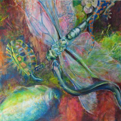 Mo Kilders - Stillleben mit Libelle II