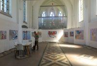 Ausstellung Kirchenatelier Link - Künstlerin Mo Kilders 2019