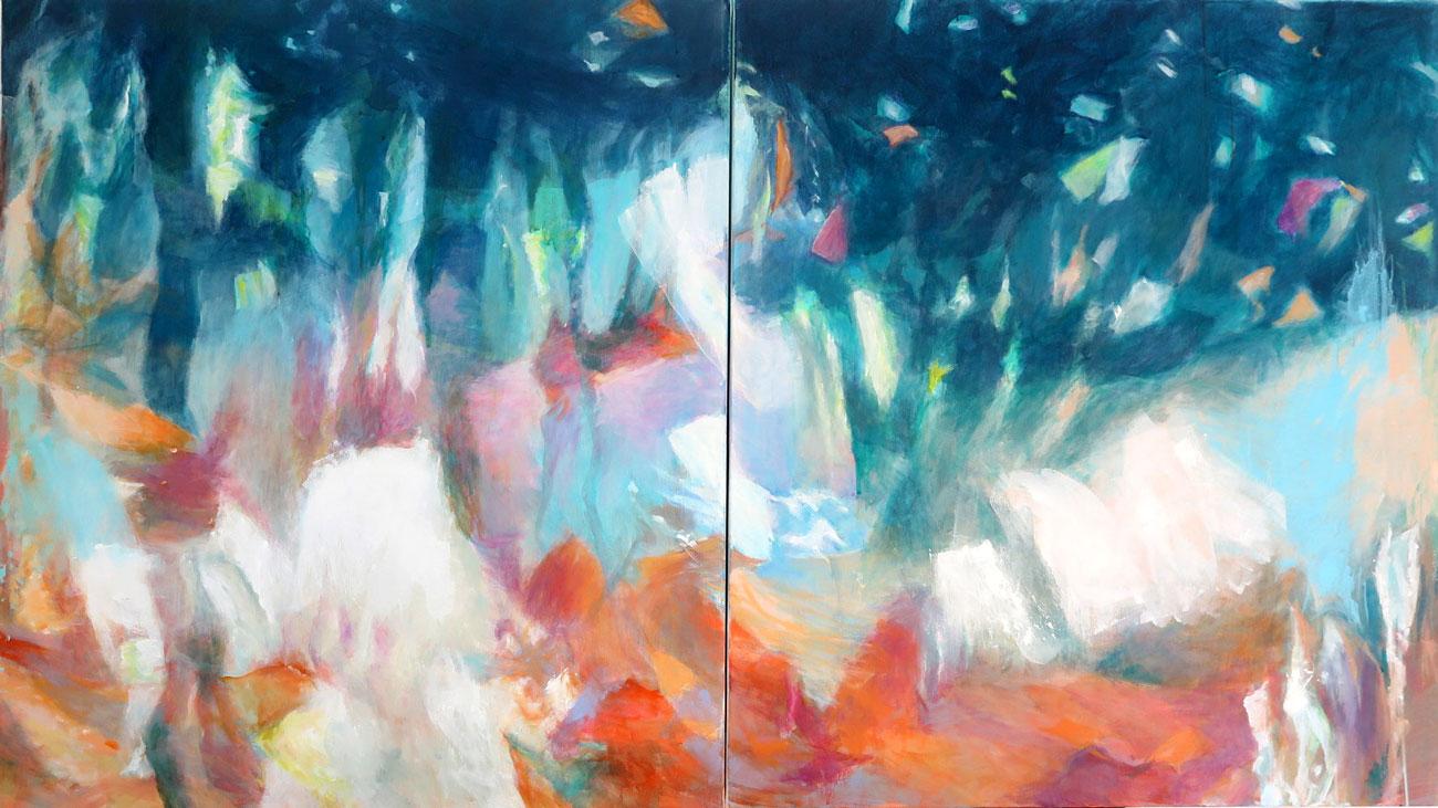 Pieces of Nature Dipychon von Mo Kilders