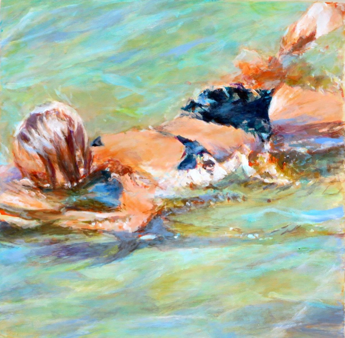 Mo Kilders Schwimmerin XVI