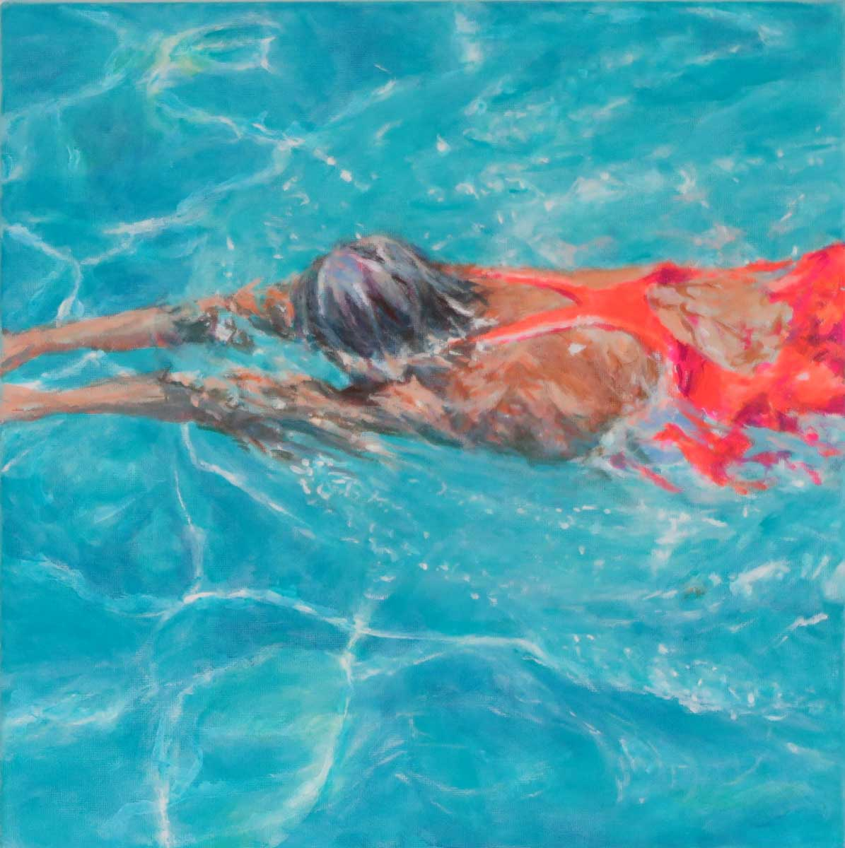 Mo Kilders Schwimmerin XXI