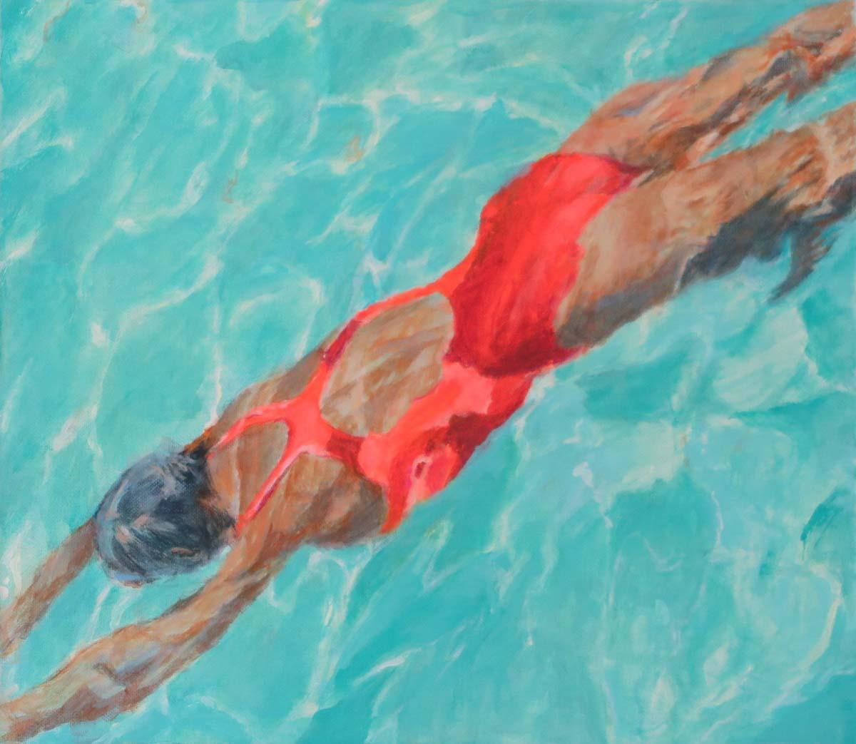 Mo Kilders Schwimmerin XXII