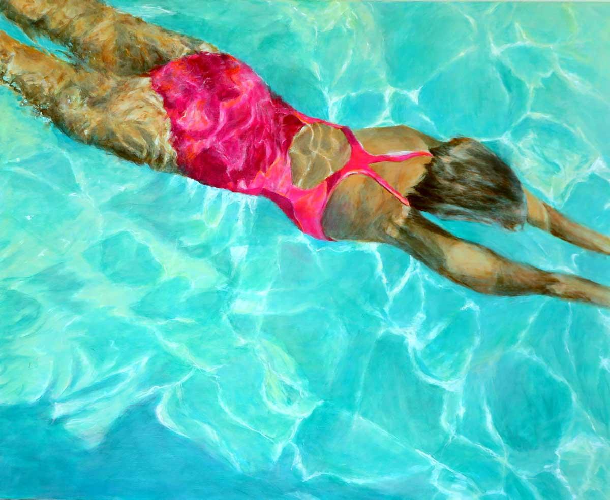 Mo Kilders Schwimmerin XXIII