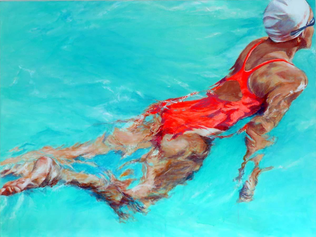 Mo Kilders Schwimmerin XXIV