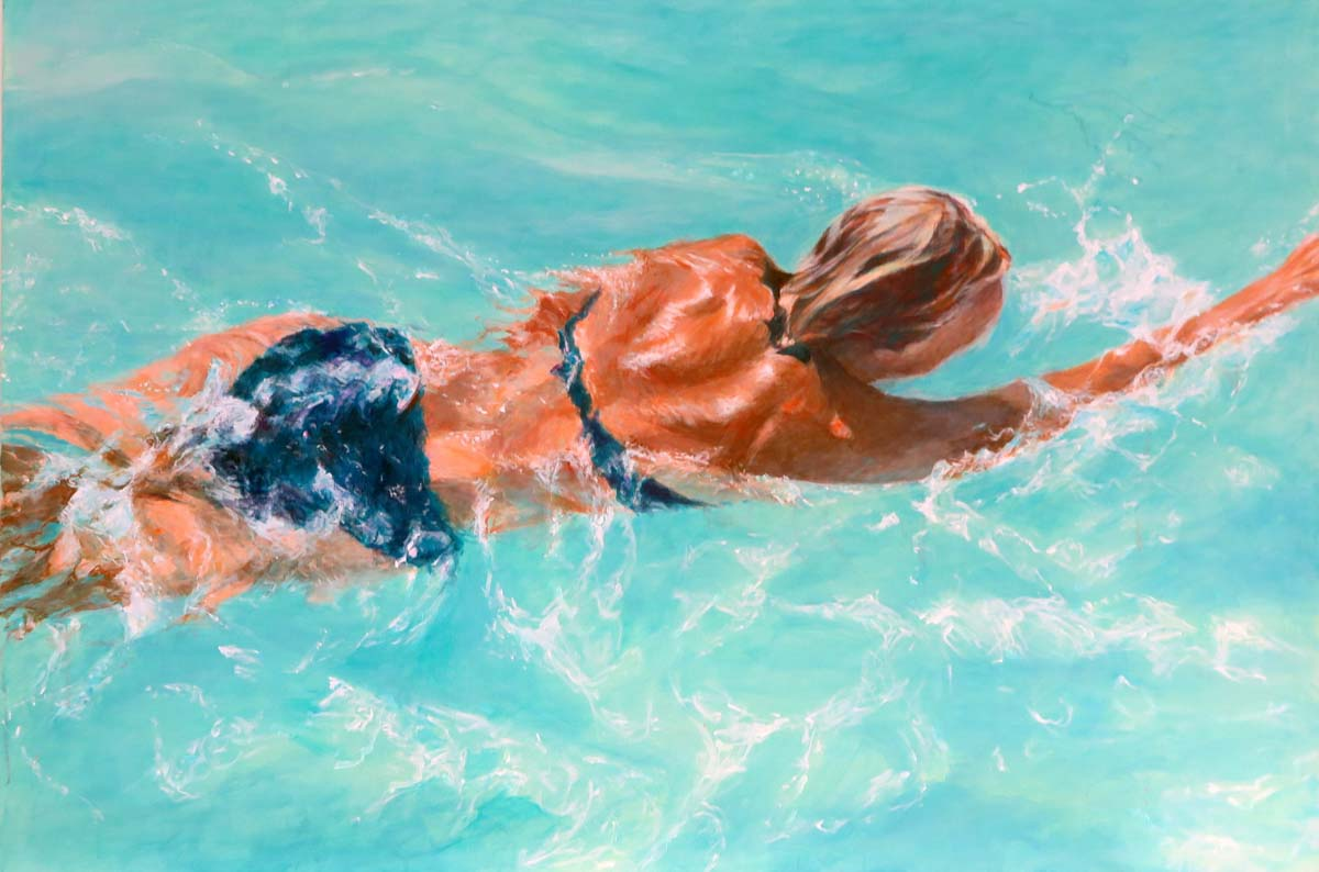 Mo Kilders Schwimmerin XXV