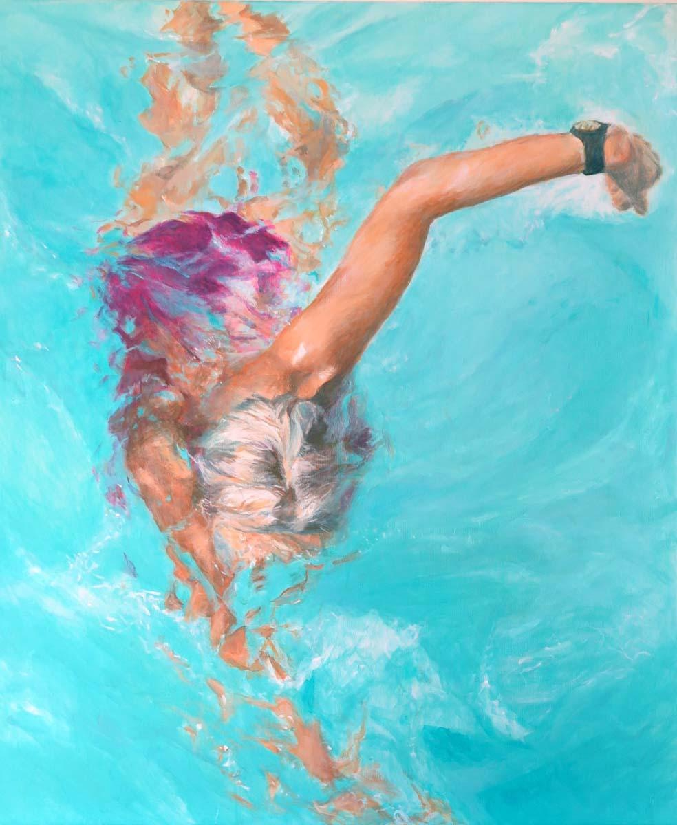 Mo Kilders Schwimmerin XXVI