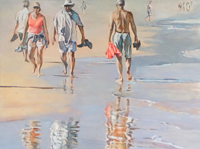 Beachwalkers I