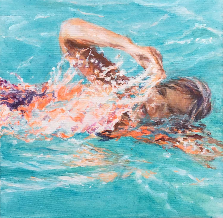 Schwimmerin Lanzarote I
