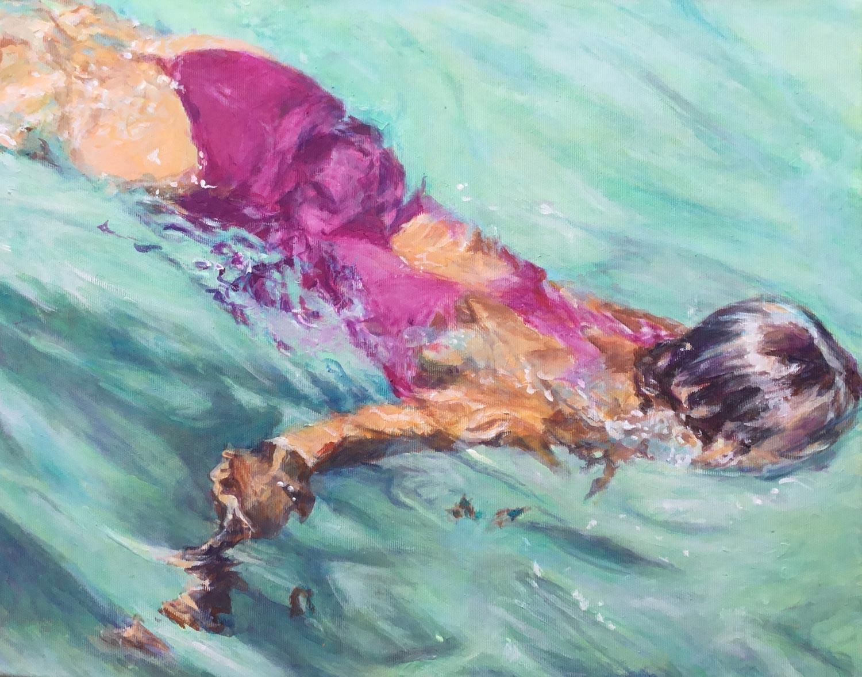 Schwimmerin Lanzarote II