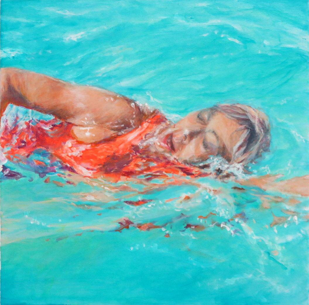 Schwimmerin Lanzarote VI