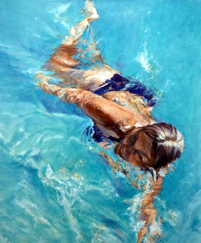 Schwimmerin XXVII