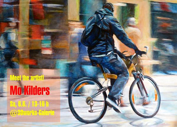 Meet the artist! 30works-Galerie und Mo Kilders
